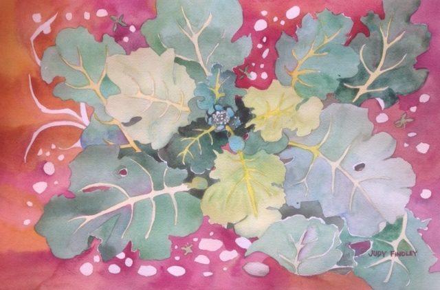 Broccoli Buds - Judy Findley