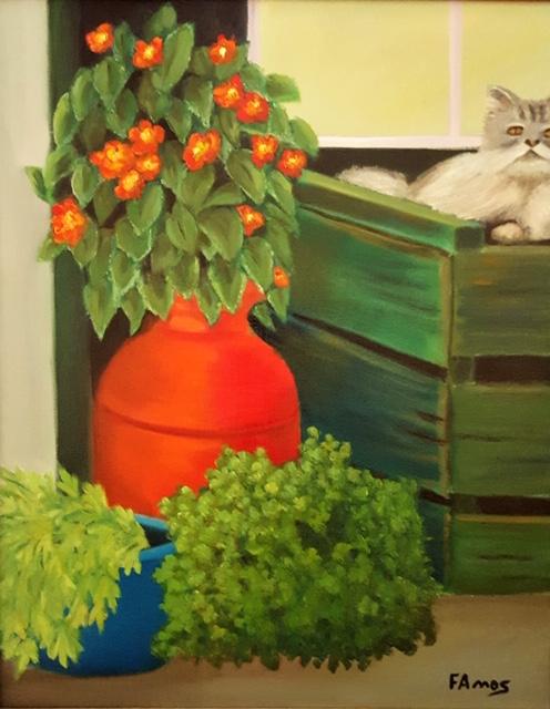 Windowsill - Fred Amos
