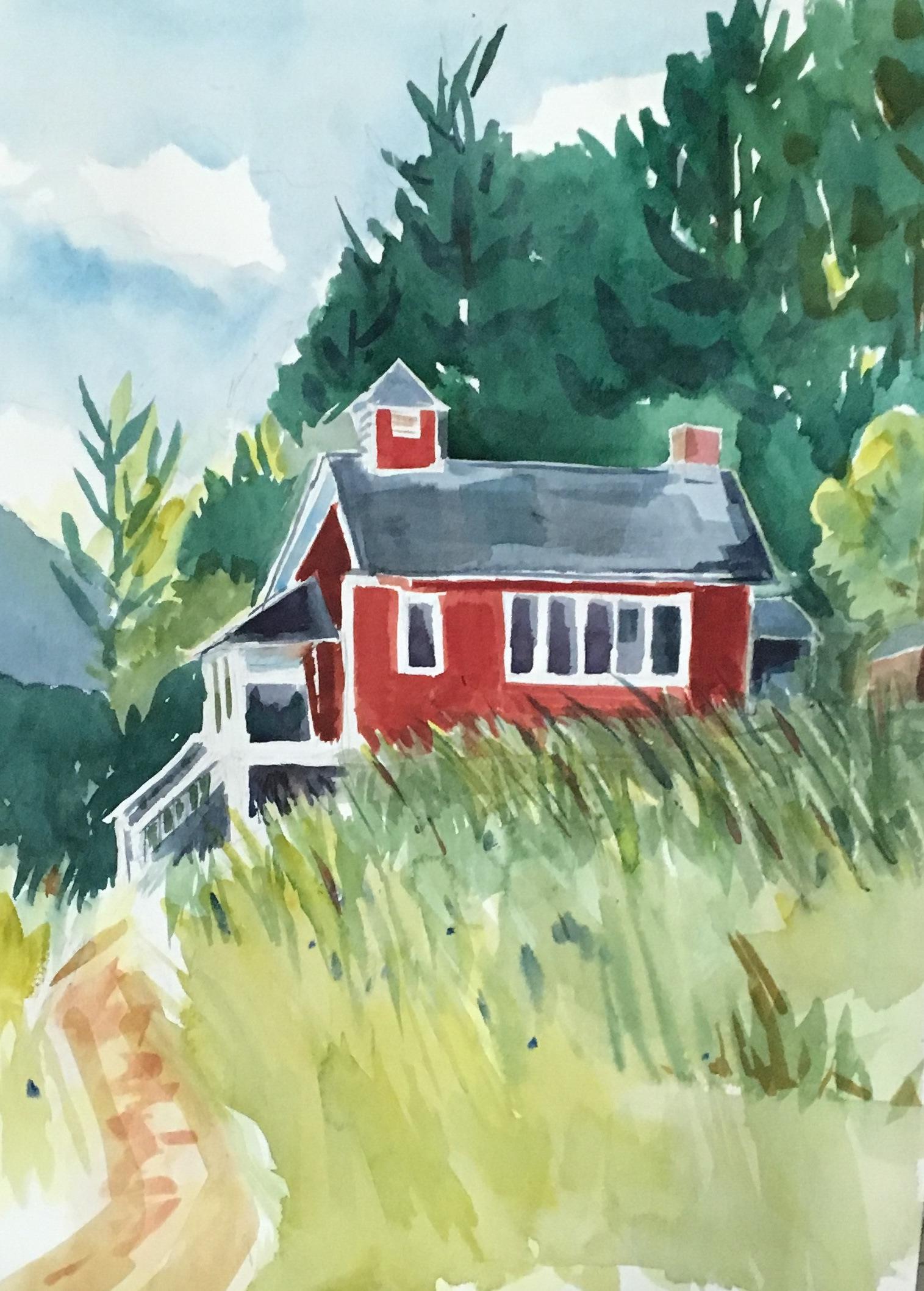 Soap Creek School House - Janet ODoherty