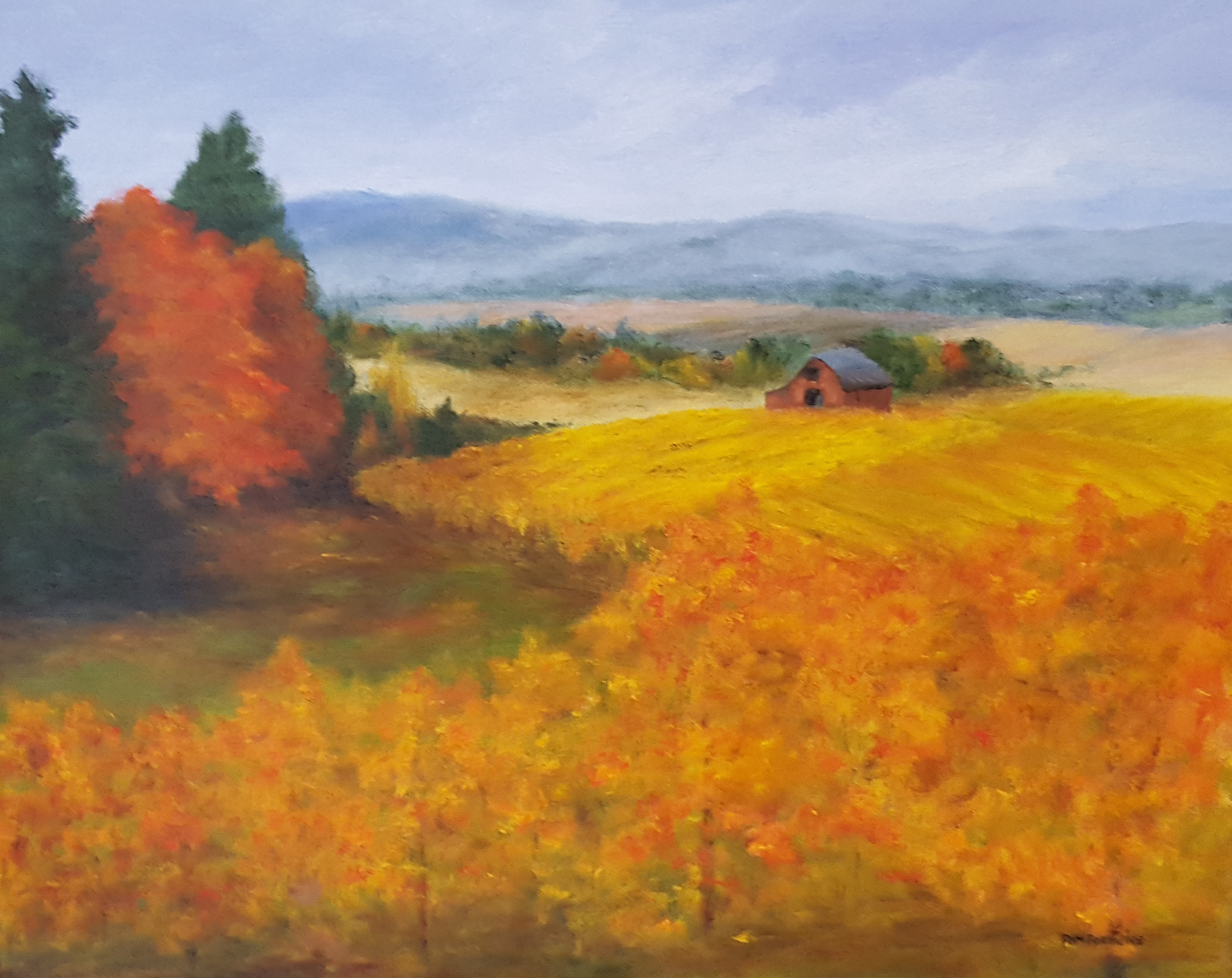 Shades of Autumn - Pam Parmelee