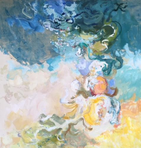 Diane Widler Wenzel - Watercolor, Acrylic, Oil, Cold Wax, Mixed Media, Collage