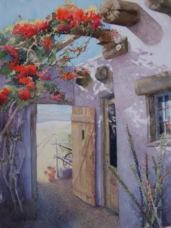 Door to Cabots Pueblo