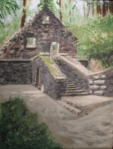 Steps to Stone House
